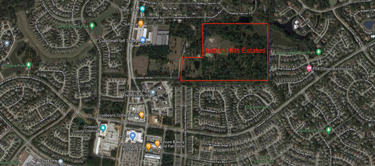 Indian Hills Estates - Creekside Park The Woodlands