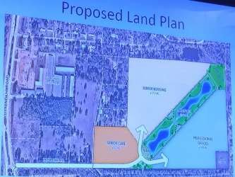Land plan for new community in Creekside Park The Woodlands